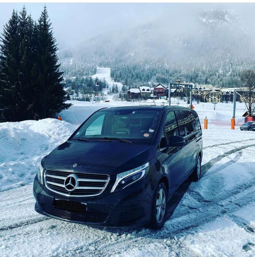 Transfert à destination des stations de skis Champagne Offert