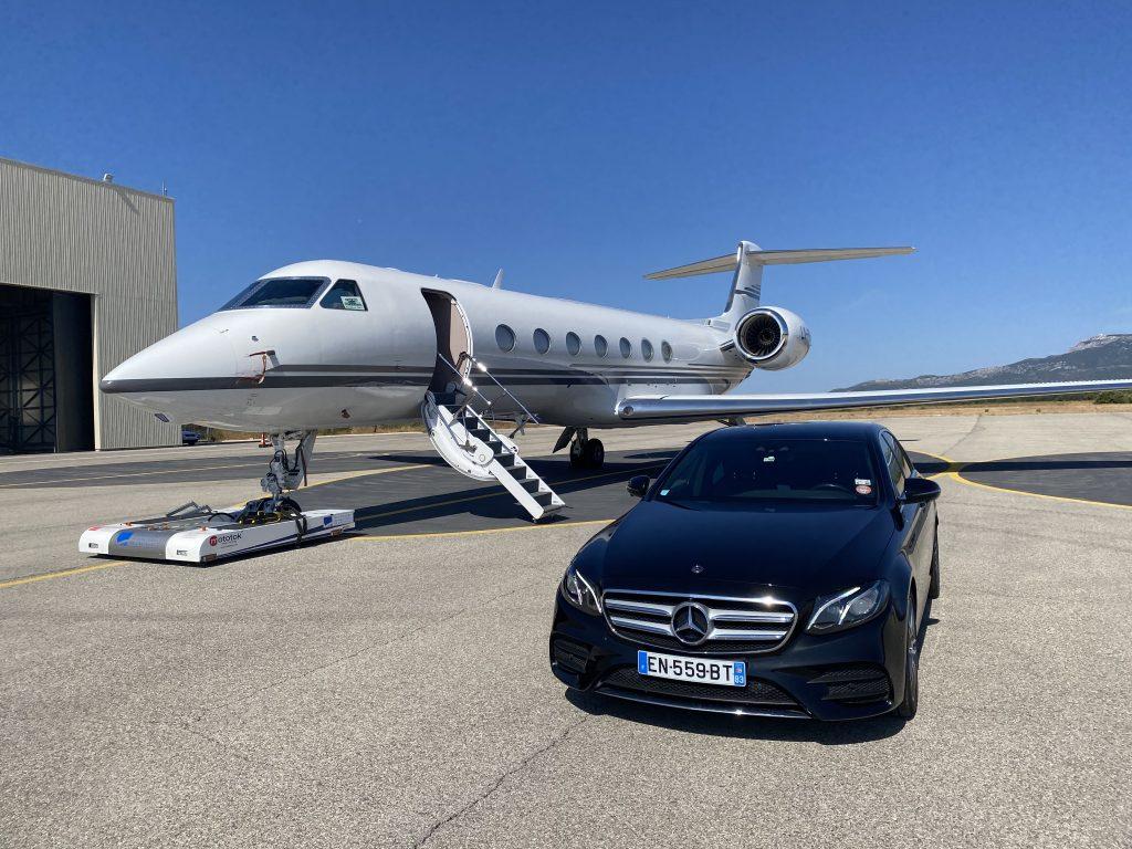 Votre Chauffeur Privé Vtc Taxi  à l'aéroport du Castellet