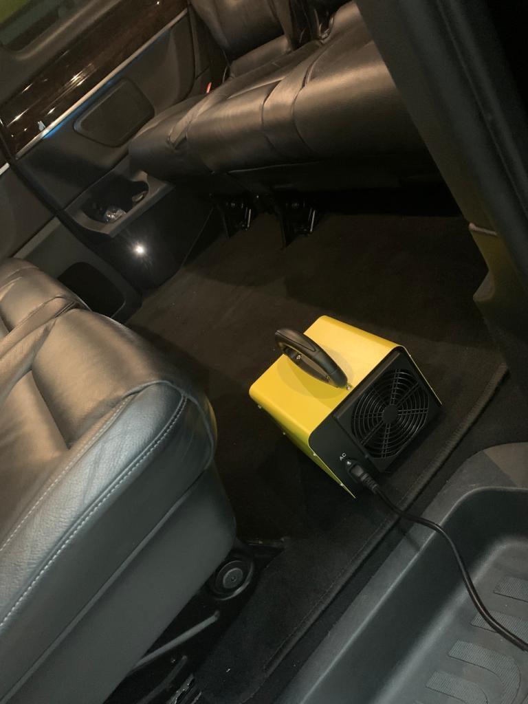 Nouveau protocole de désinfection de nos véhicules à l'ozone